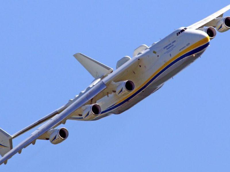 Potężny Antonov AN-225 - wojna o maski (antonov-airlines.com)