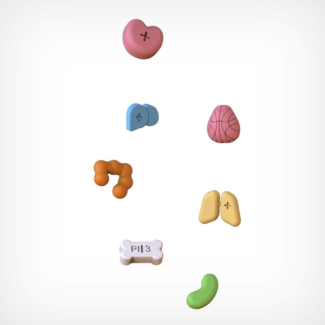 Pigułki w kształcie emotikonek (fot. Jong Hun Choi)
