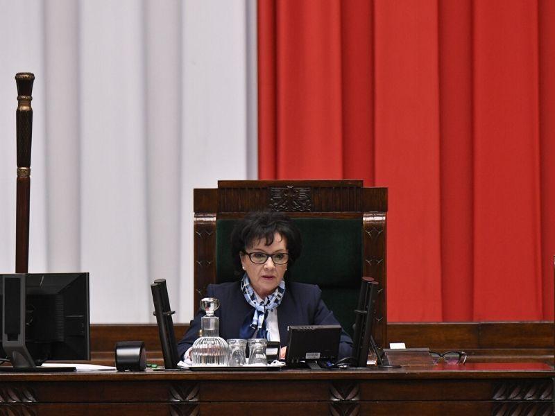 Marszałek Sejmu Elżbieta Witek (fot. sejm.gov.pl)