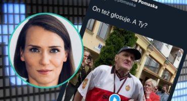 Agnieszka Pomaska z PO zamieściła skandaliczny wpis z chorym mężczyzną. Po fali krytyki usunęła go