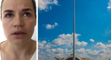 Swiatłana Cichanouska w wywiadach mogła rozczarować. Wciąż daleko jej do liderki opozycji?