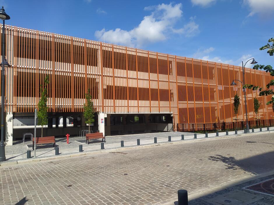 Nowy parking przy Okopowej w Gdańsku (fot. Konrad Marciński/GZDiZ)